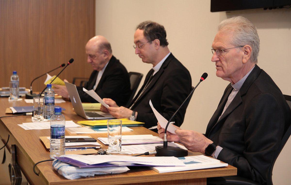 Secretário-Geral da CNBB, dom Leonardo Steiner, destaca os principais temas discutidos na reunião doConselho Permanente