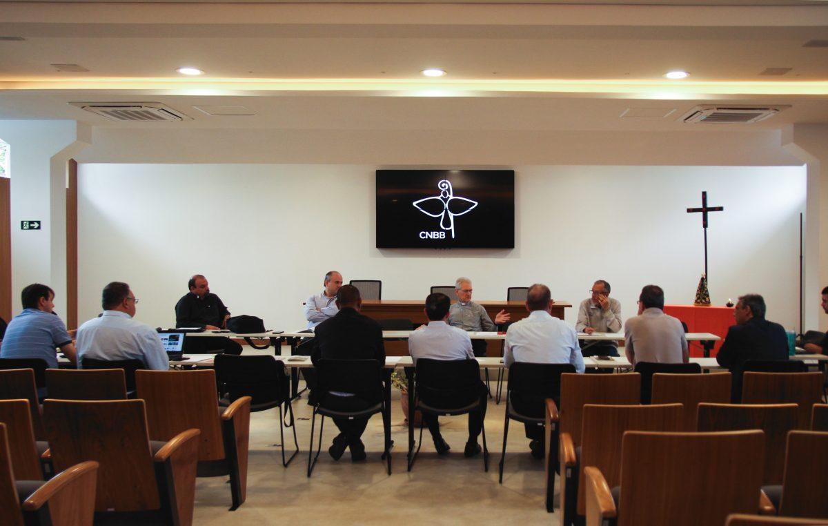 Grupo de Assessores da CNBB realiza reunião em Brasília (DF)