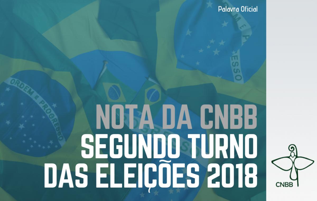 CNBB divulga nota sobre o segundo turno das eleições 2018