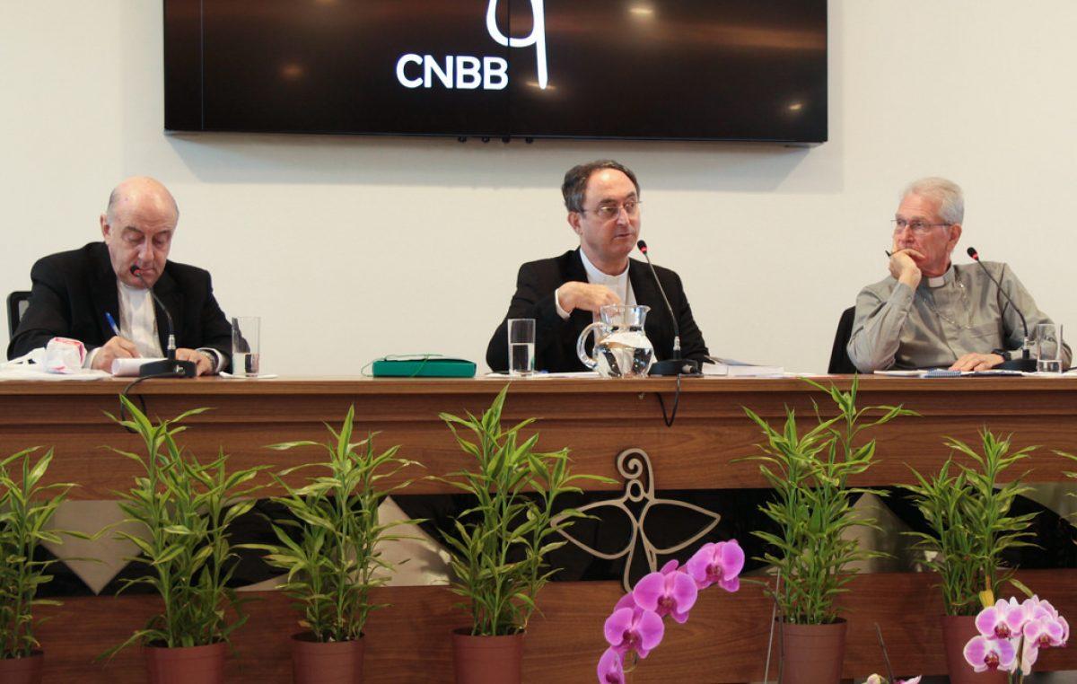 Conselho Episcopal Pastoral da CNBB reunido, em Brasília, nesta terça e quarta-feira