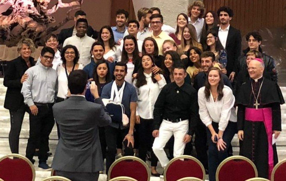 Jovens do Brasil compartilham experiências efetivas no Sínodo 2018