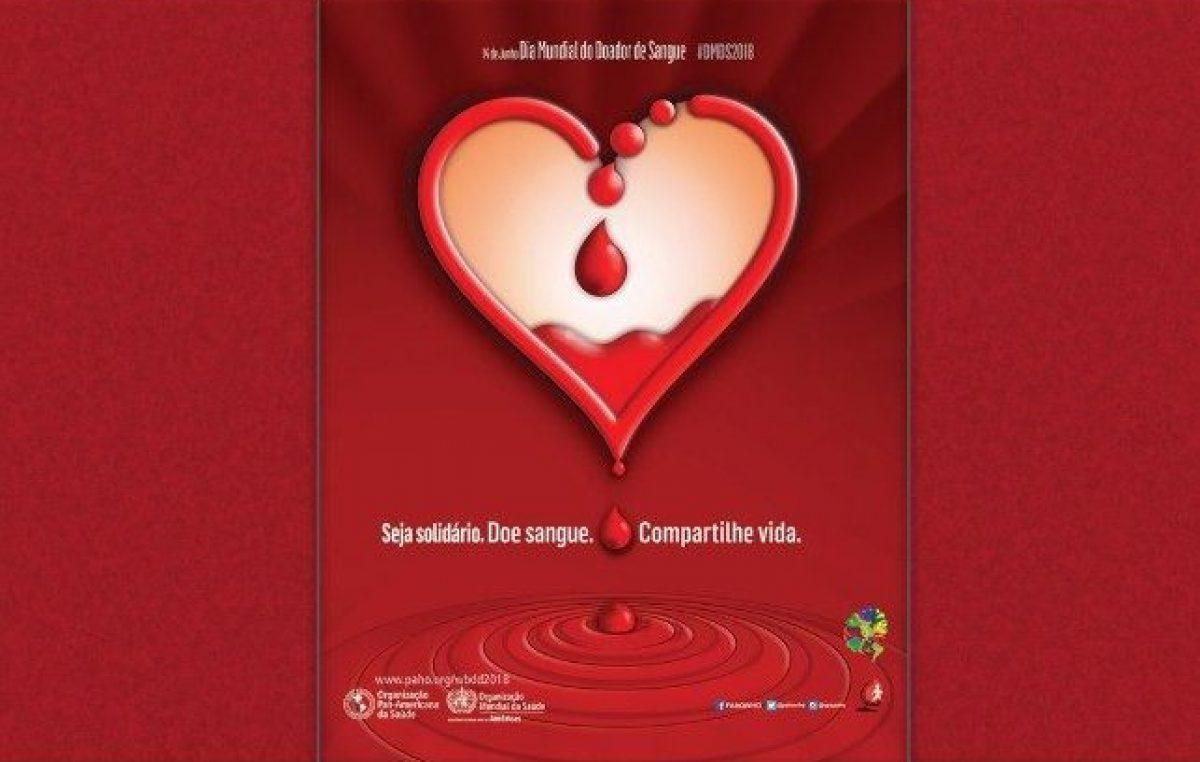 Doação de sangue: mais que um ato de solidário é uma necessidade que salva vidas.