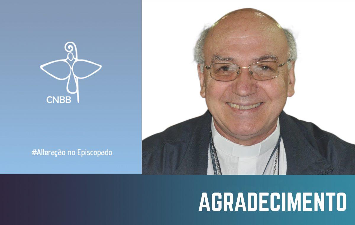 Dom Biasin tem seu pedido de renúncia aceito pelo papa