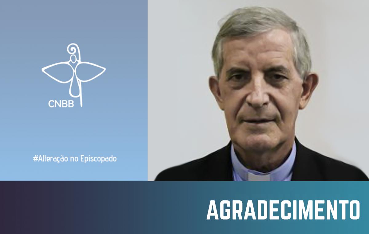 CNBB manifesta gratidão a dom Segismundo Martinez, bispo emérito de Corumbá (MS)