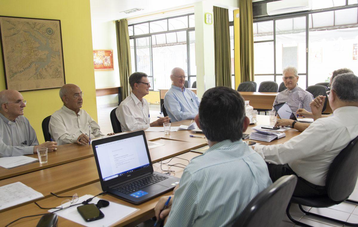 Comissão Especial para os Bispos Eméritos da CNBB prepara Encontro Nacional, em Brasília (DF)
