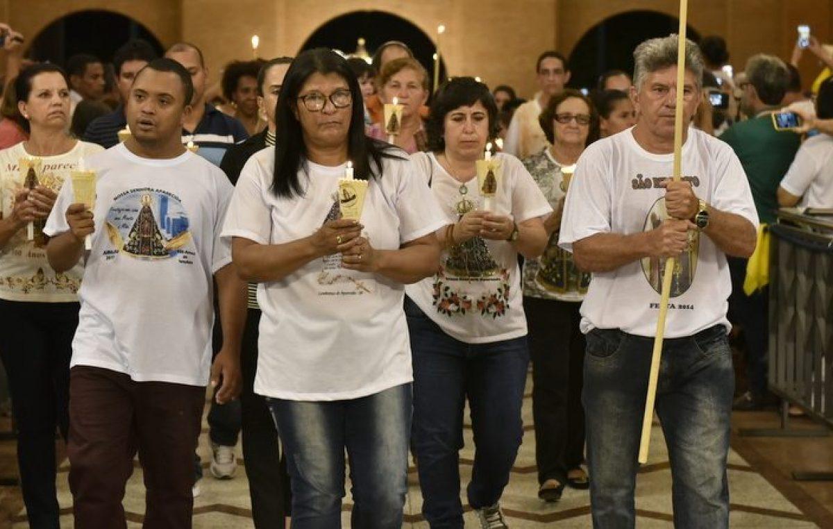 Santuário de Aparecida (SP) recebe Romaria do Ano do Laicato