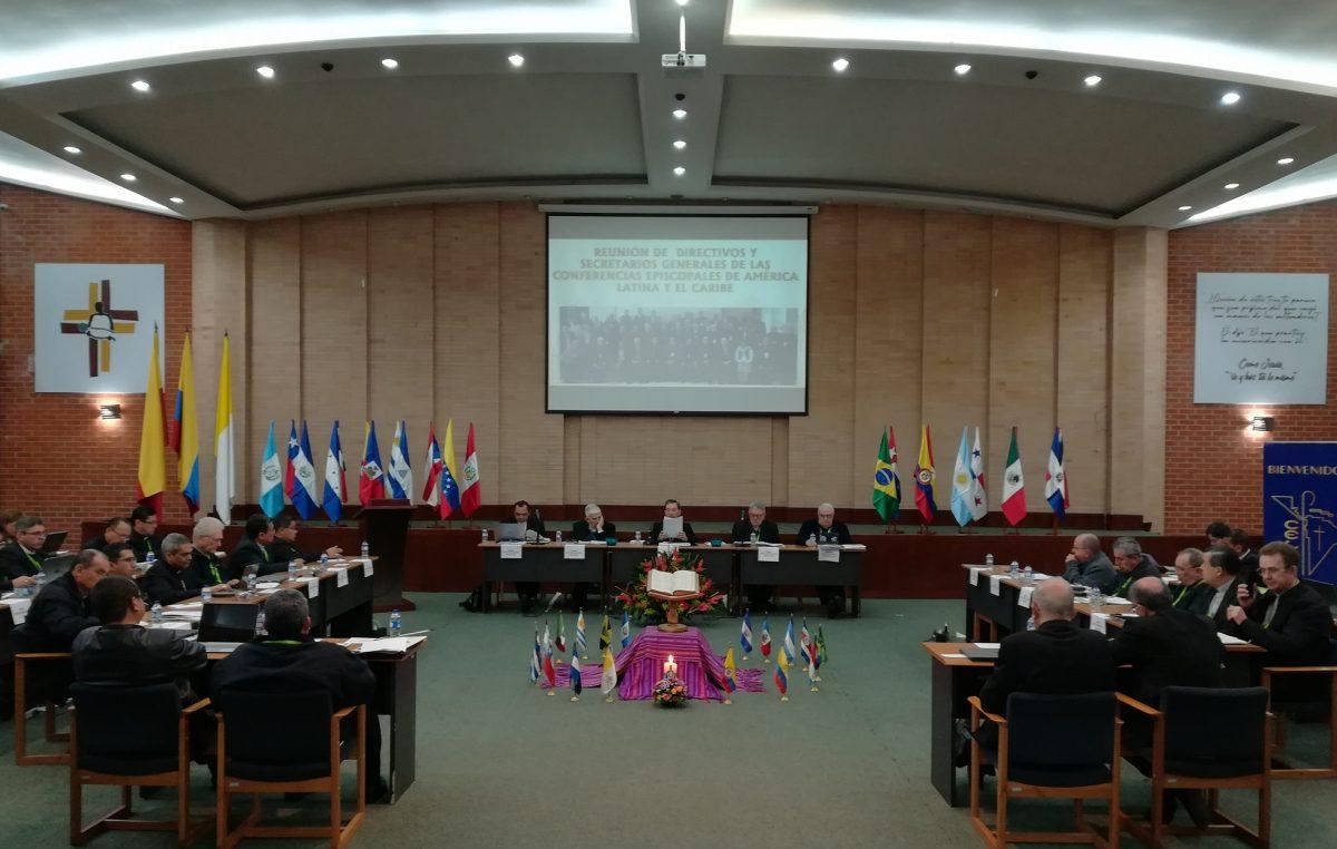 Secretário-geral da CNBB participa de reunião de executivos do CELAM, em Bogotá