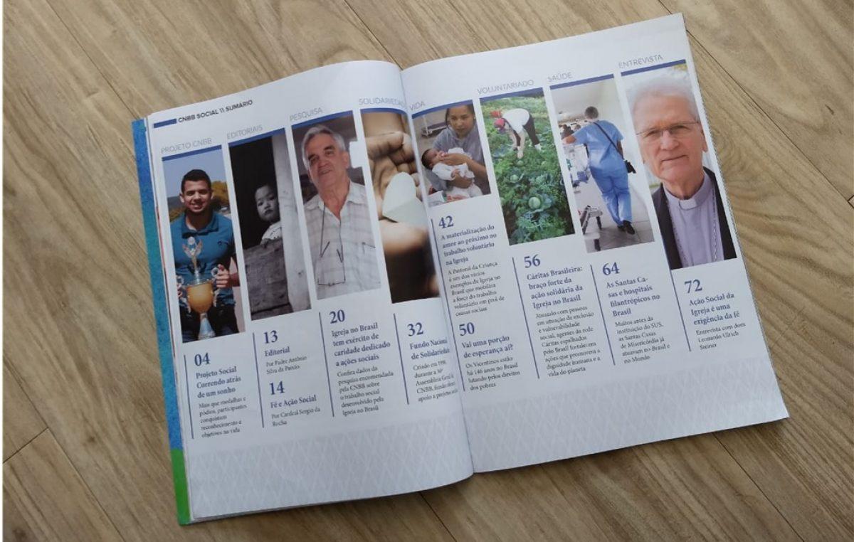 CNBB Social: revista apresenta experiências de transformação promovidas pela Igreja
