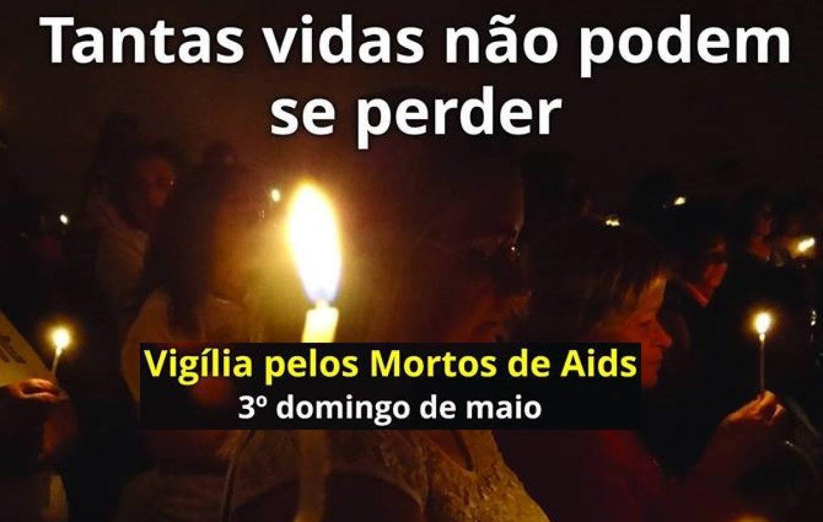 """Pastoral celebra vigília pelos mortos de Aids: """"Tantas vidas não podem se perder"""""""