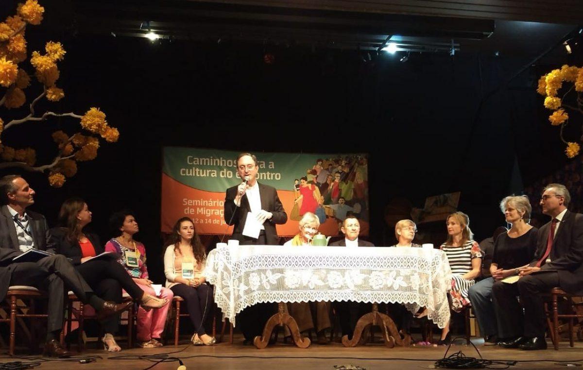 Caminhos para a cultura do encontro são sinalizados no Seminário Internacional de Migrações e Refúgio