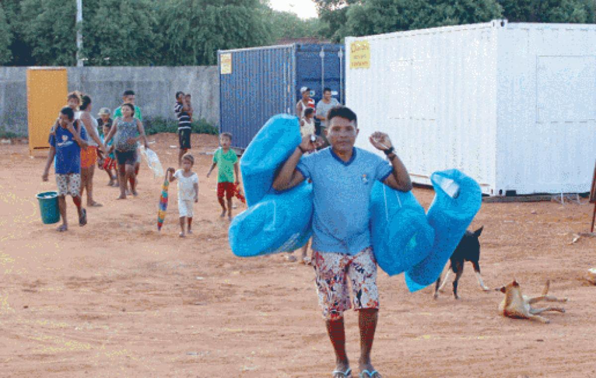 Comitiva da CNBB vai ao estado de Roraima conhecer a realidade dos migrantes venezuelanos