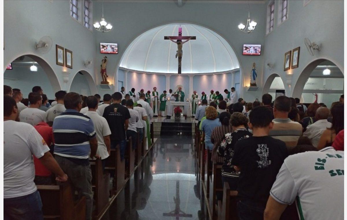 Arcebispo e auxiliares de BH celebram em Brumadinho (MG)