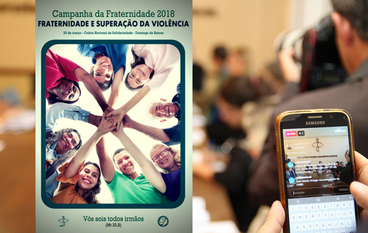 Abertura da Campanha da Fraternidade será transmitida ao vivo para o Brasil e o mundo