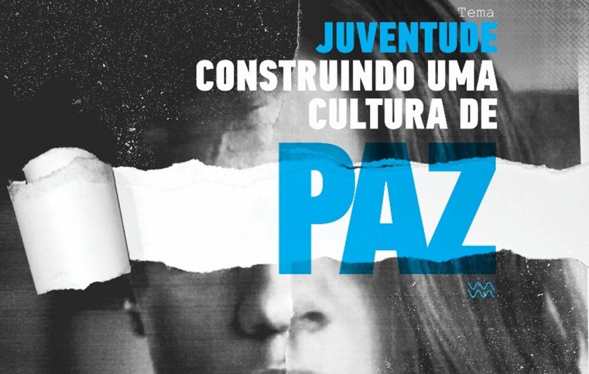 A construção de uma cultura de paz é o eixo central do Dia Nacional da Juventude 2018, celebrado neste domingo