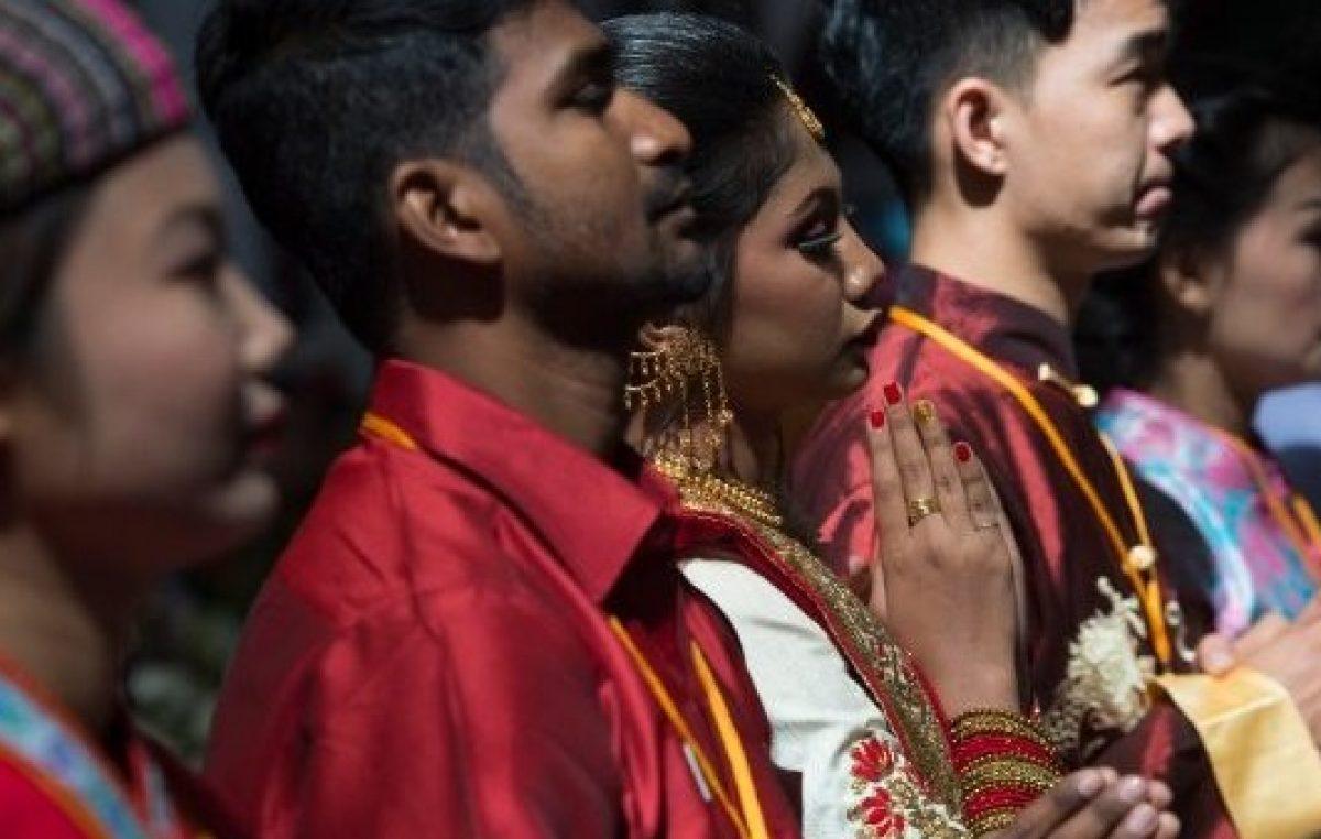 Aumenta o número de católicos no mundo inteiro