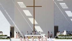 Missa em Abu Dhabi - Homilia do Santo Padre na íntegra