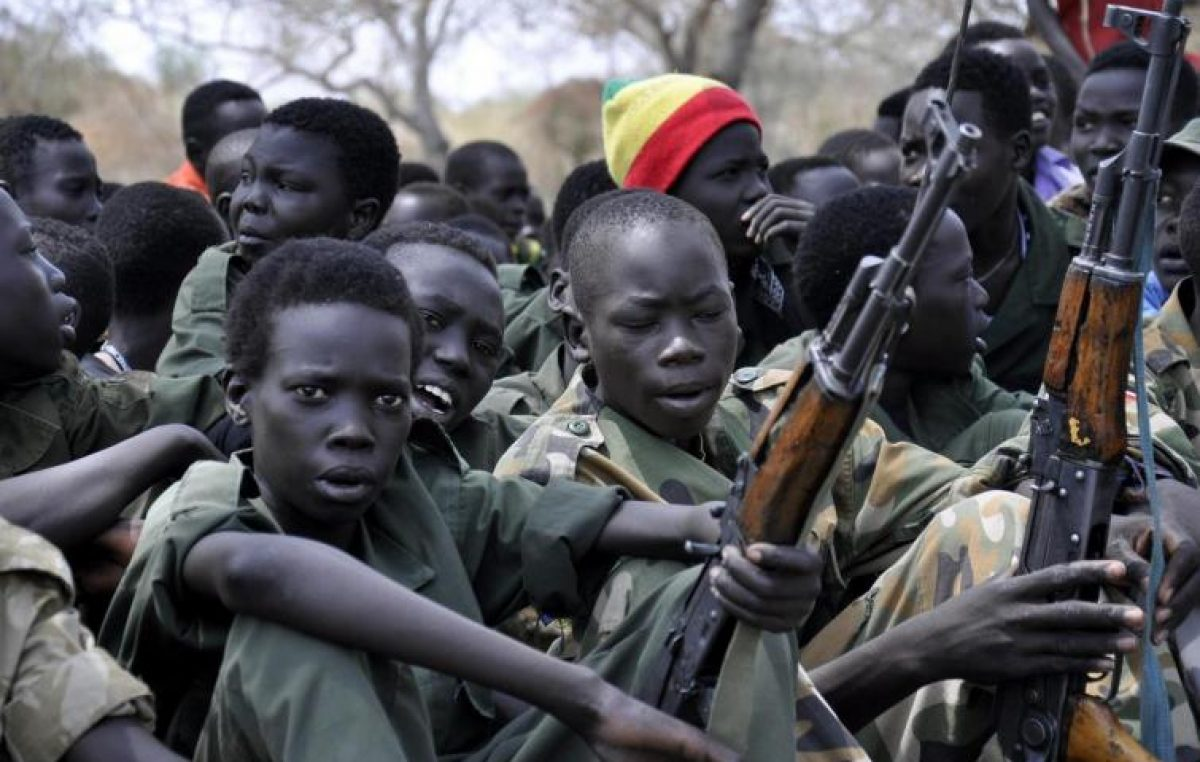 2019: 70 anos da Convenção de Genebra e crianças são usadas em conflitos armados