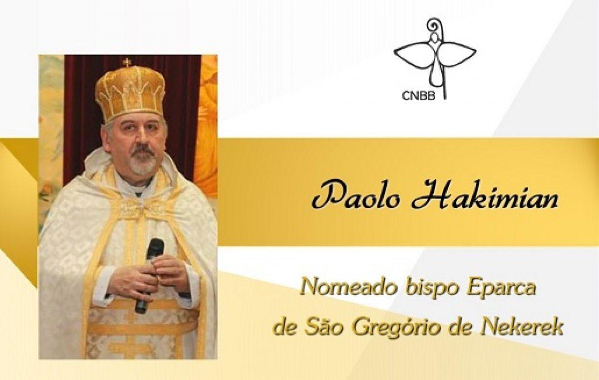 Papa Francisco nomeia eparca de São Gregório de Narek