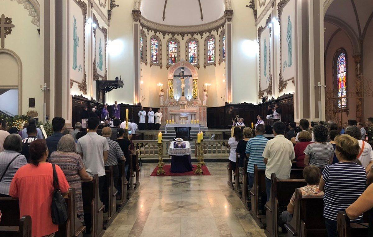 Arcebispo emérito de Pouso Alegre (MG) será sepultado nesta terça, 3 de abril
