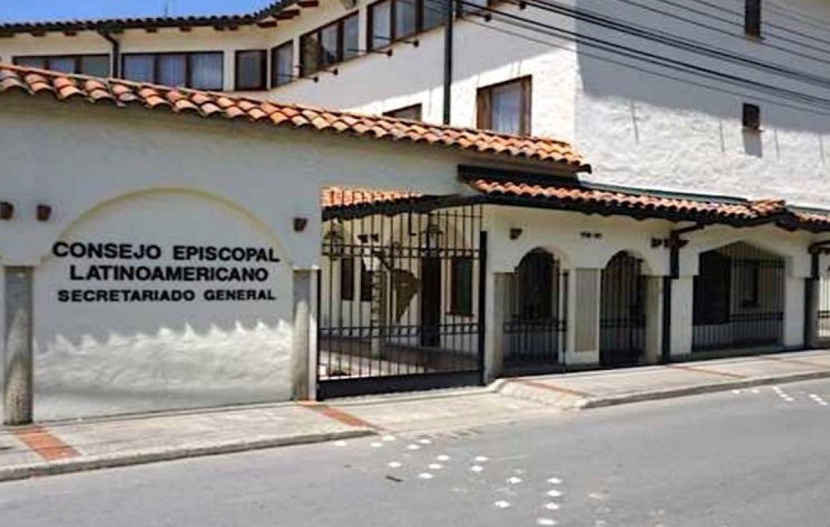 Encontro dos presidentes e secretários de conferências episcopais do Celam, em Bogotá