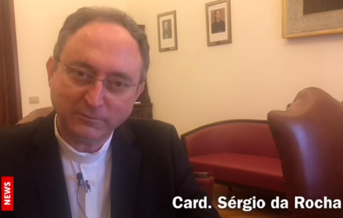 Cardeal Sergio da Rocha fala ao Portal Vatican News do apoio da CNBB ao Papa Francisco
