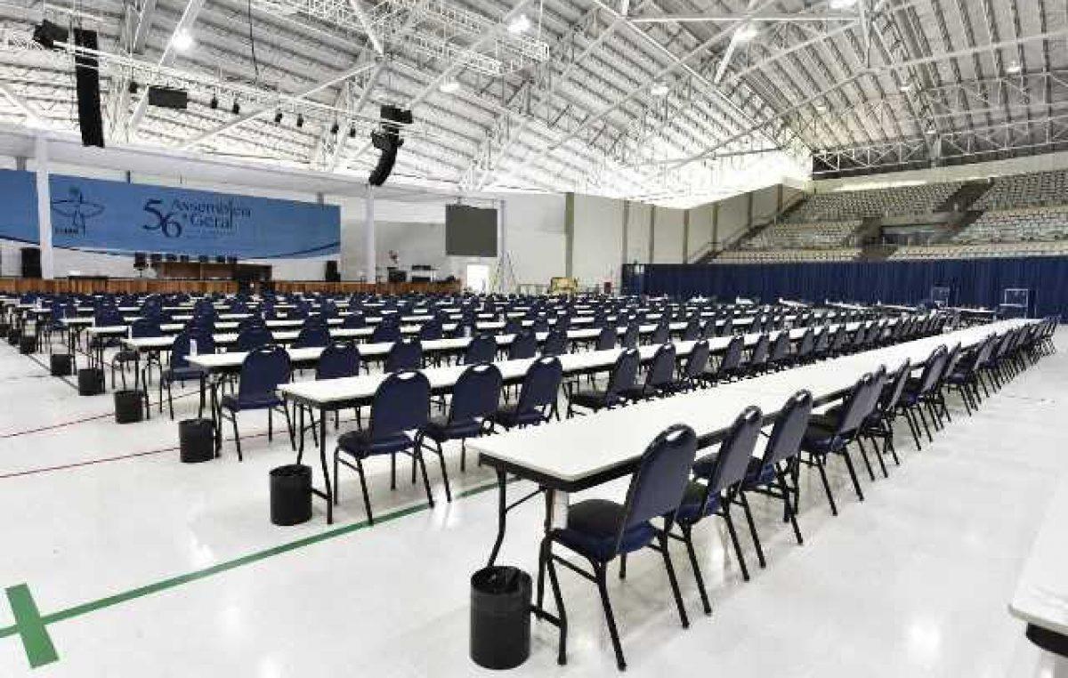 Estrutura especial em Aparecida (SP) está pronta para receber a 57ª AG da CNBB