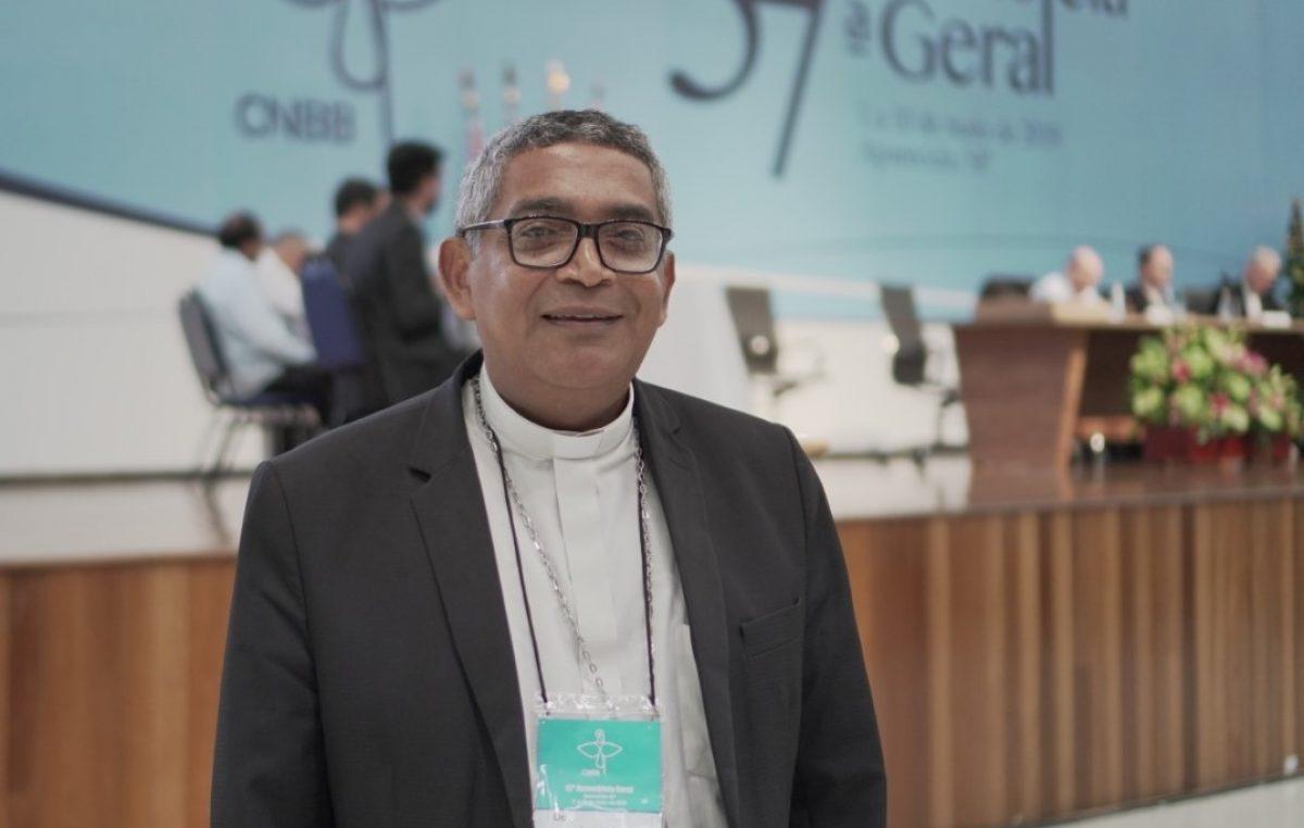 Dom Nelson Francelino é eleito presidente da Comissão Episcopal para a Juventude