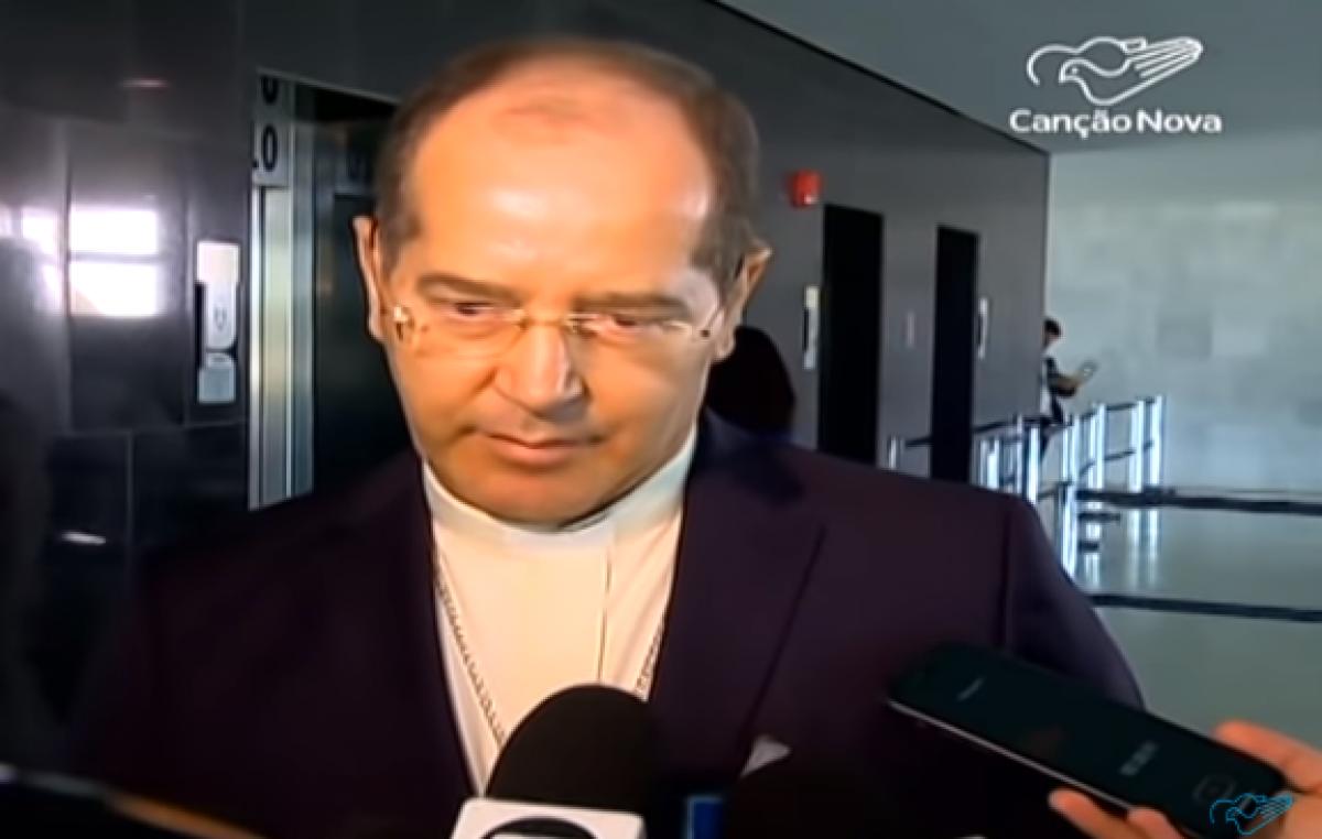 """""""A conversa com o presidente Bolsonaro foi amigável"""", disse dom Walmor"""